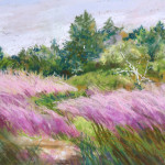 Muldowney N - Muhle Grass in the Wind 11x15 pastel