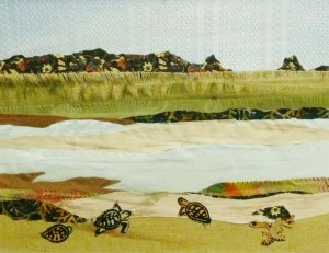 fabric-collage-turtles