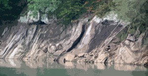 Lake Rock Formations