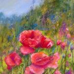 muldowney,n poppies 10x13 Pastel